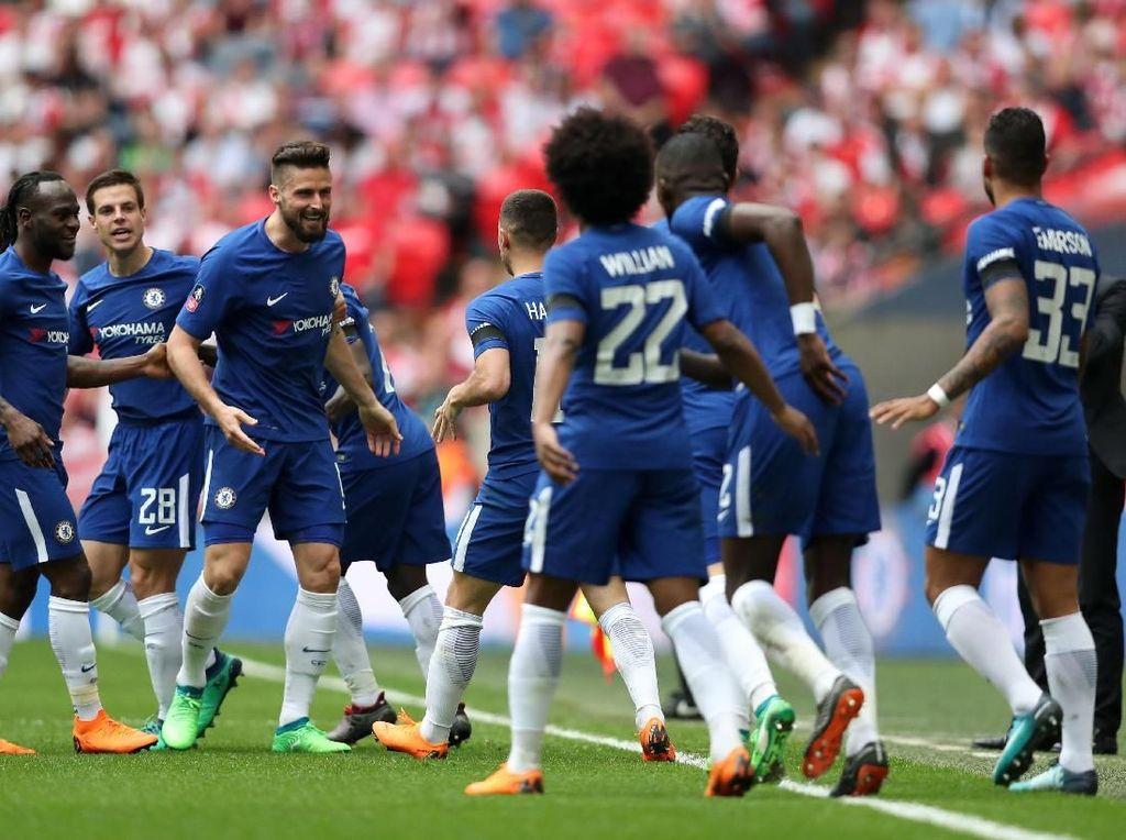Chelsea Tantang MU di Final Piala FA