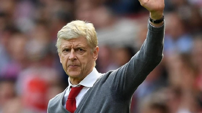 Wenger Pergi Sebagai Pahlawan