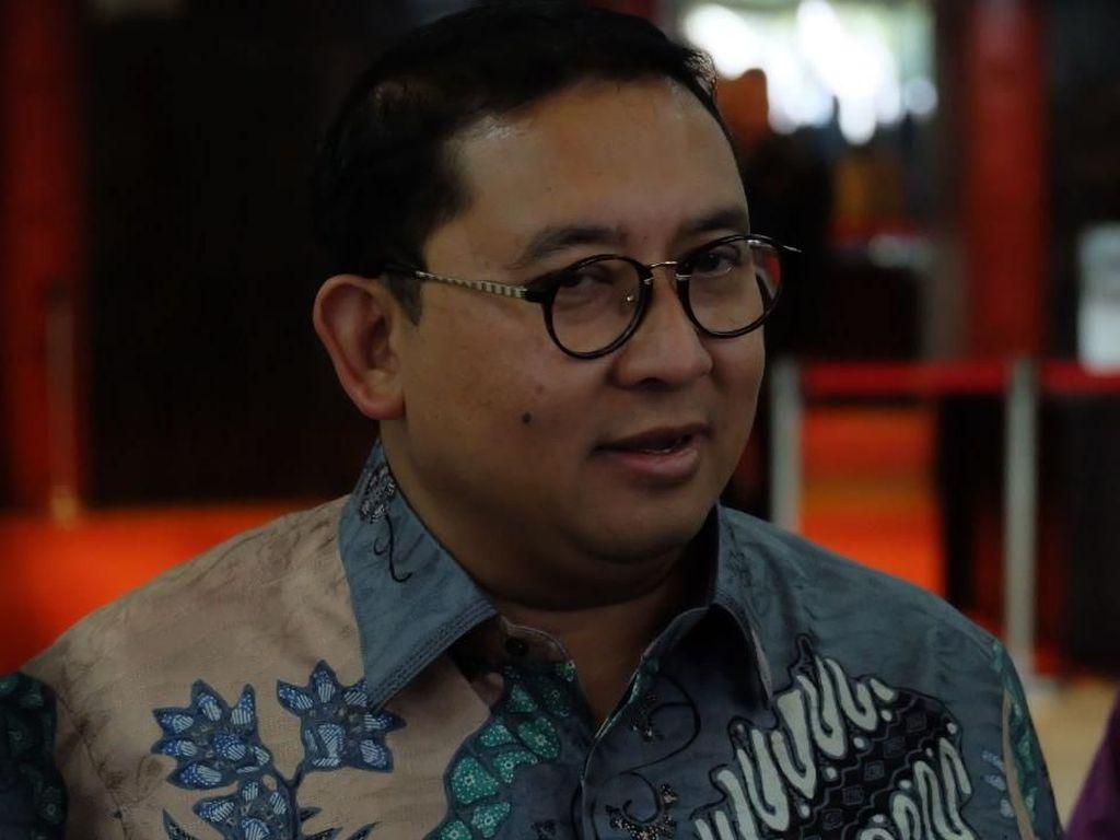 Fadli Zon: Kalau Jokowi Kangen Nanti Saya Kritik Pedas