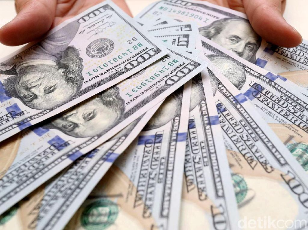 Dolar AS Menjinak, Sekarang Rp 14.045