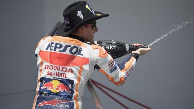 Marc Marquez meraih empat titel juara dunia dalam lima musim perdananya di kelas MotoGP.