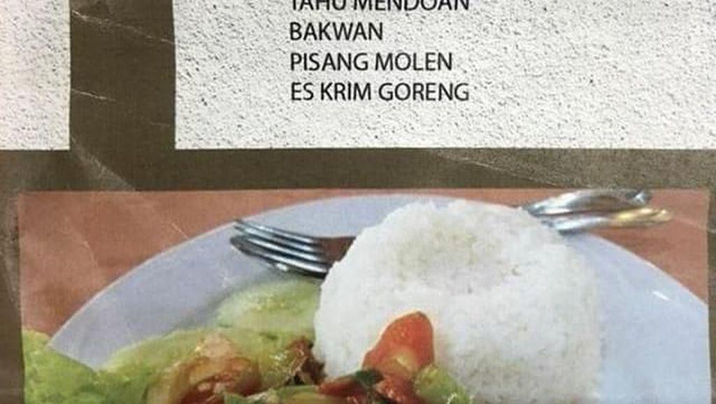 Kocak! Tulisan Nama Menu Makanan Ini Bikin Ketawa Ngakak