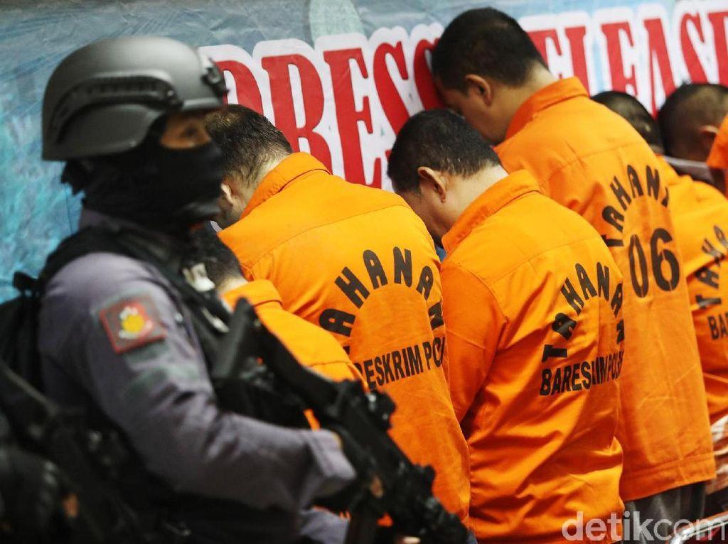 Polisi Bekuk Pelaku Perdagangan Orang