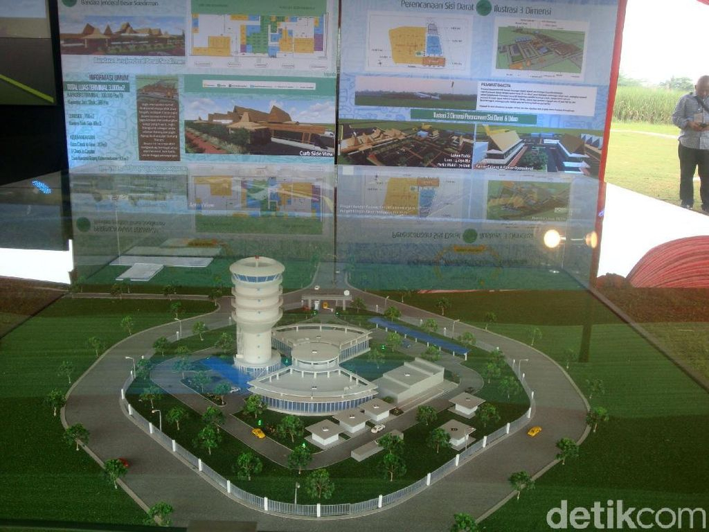 Butuh Dana Rp 350 M Bangun Bandara JB Soedirman Purbalingga