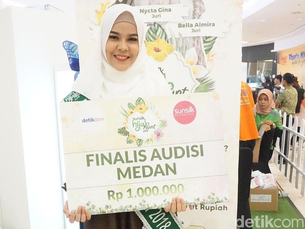 Indira, Finalis Sunsilk Hijab Hunt 2018 Bersuara Merdu dari Medan