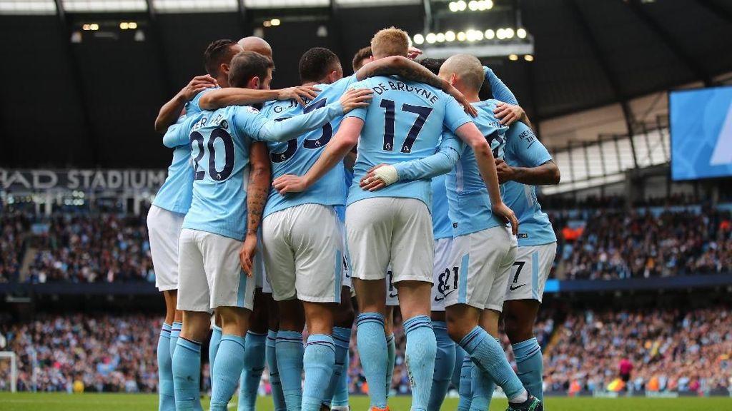 Gaya Liburan Para Pemain Manchester City