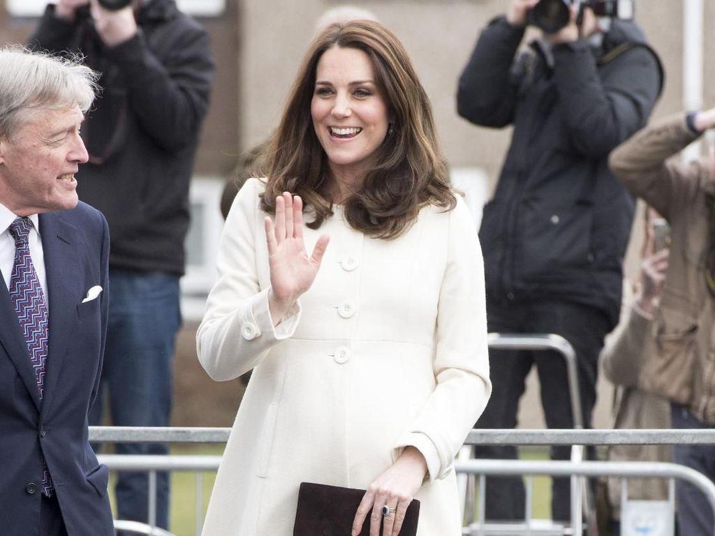 Kate Middleton Melahirkan Anak ke-3, Simak Lagi Gayanya Saat Hamil