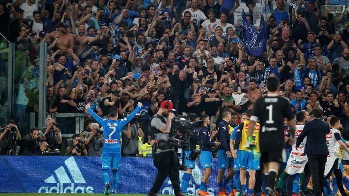 Napoli berhasil mengalahkan Juventus 1-0. (Foto: Stefano Rellandini/Reuters)