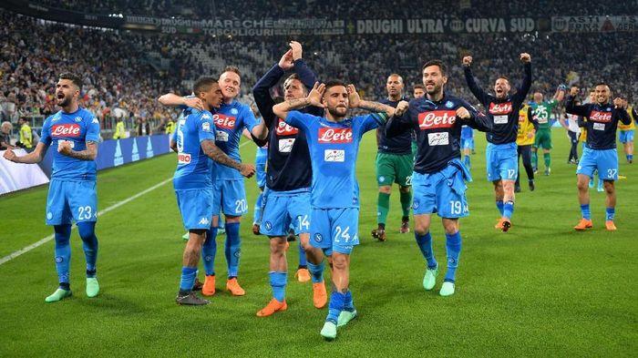 Napoli menang 1-0 di markas Juventus (Foto: Massimo Pinca/Reuters)