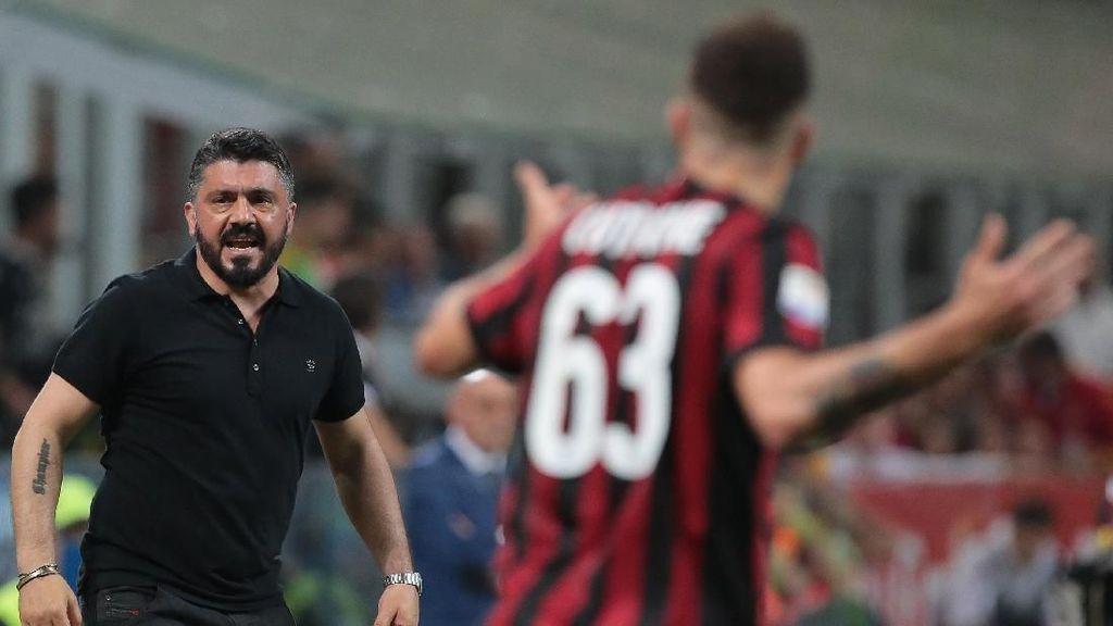 Gattuso Dapat Kontrak Baru, Milan Malah Gagal Finis Empat Besar