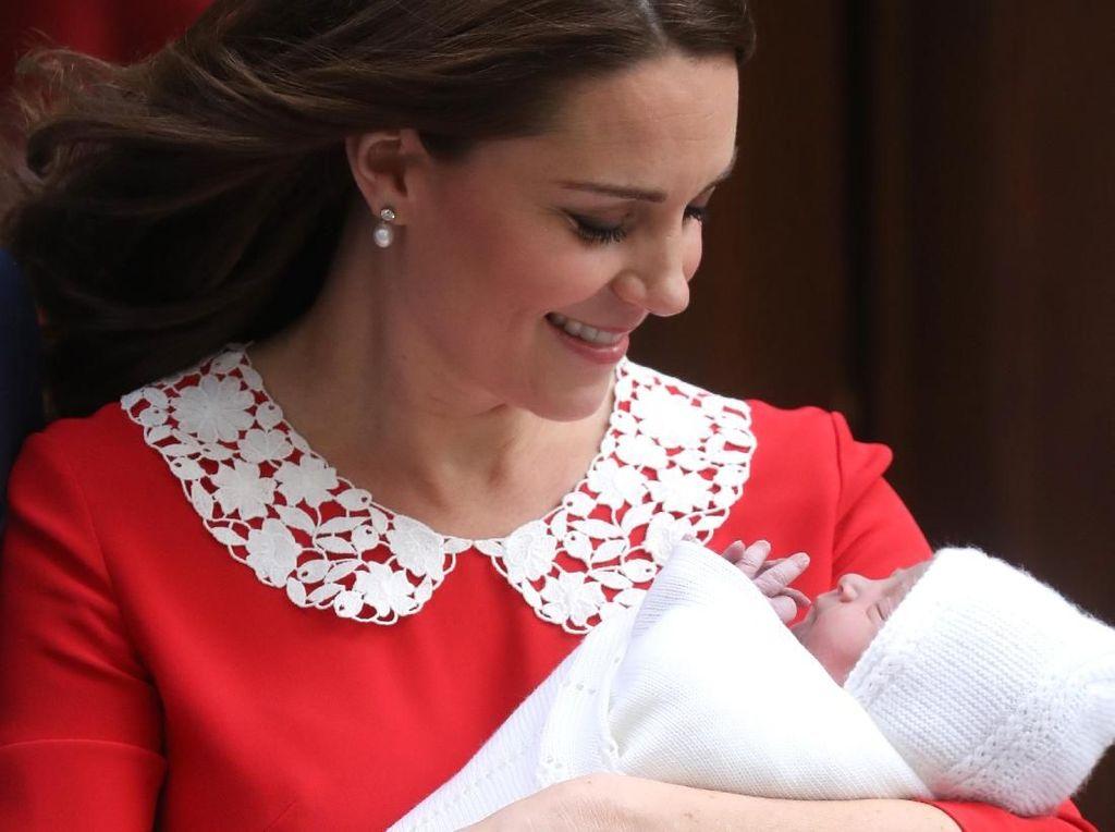 Kenapa Pangeran William-Kate Belum Umumkan Nama Anak Ketiganya?