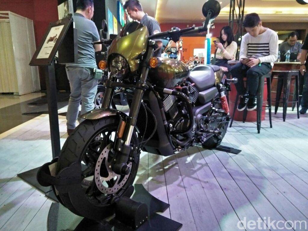 Harley-Davidson Pamer Motor Baru di IIMS 2018