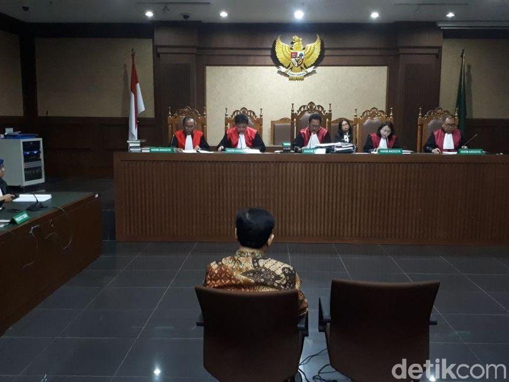 Divonis 15 Tahun Penjara, Novanto Pikir-pikir Ajukan Banding