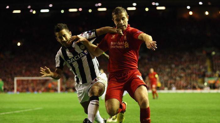 Udinese jadi tim Italia yang terakhir dihadapi Liverpool pada tahun 2012 (Clive Brunskill/Getty Images)