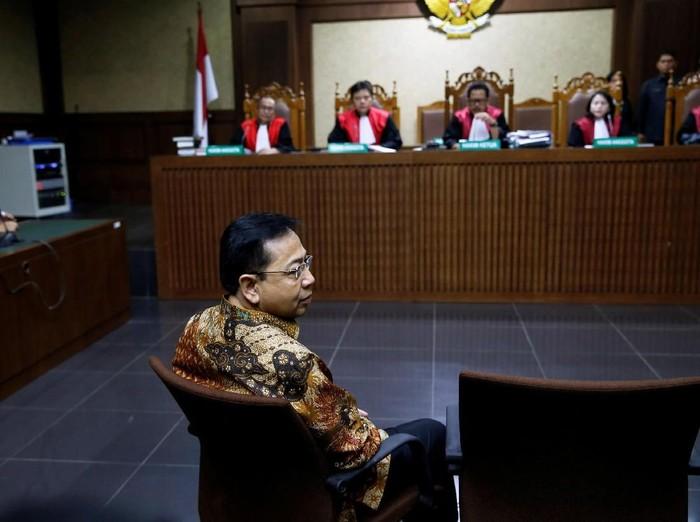 Hakim Tolak Buka Blokir Rekening Setya Novanto