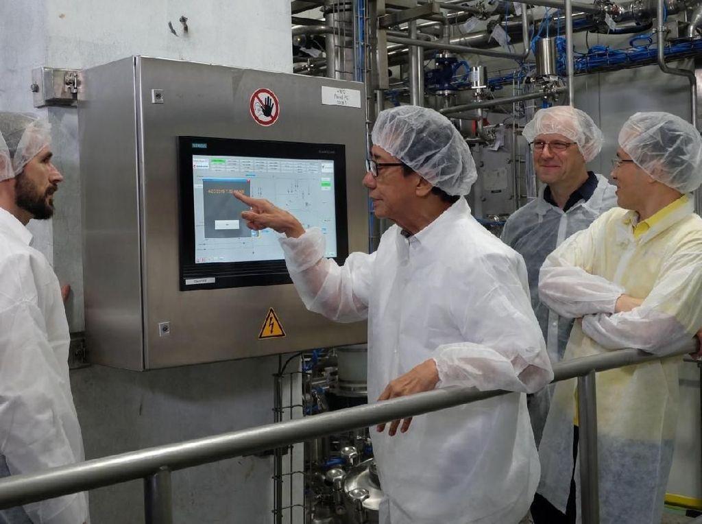 Perusahaan Jamu Ini Usung Proses Produksi Serba Otomatis