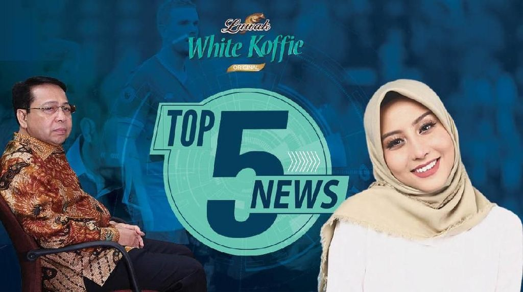Setya Novanto Lesu Divonis 15 Tahun, Awkarin Jualan Hijab