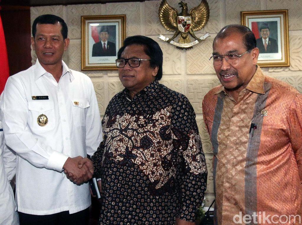 OSO Bertemu Mayjen TNI Doni Monardo