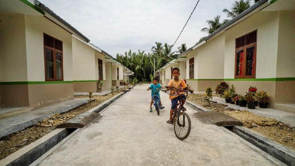 Rumah Khusus Untuk Nelayan di Kampung Susi Terus Ditambah
