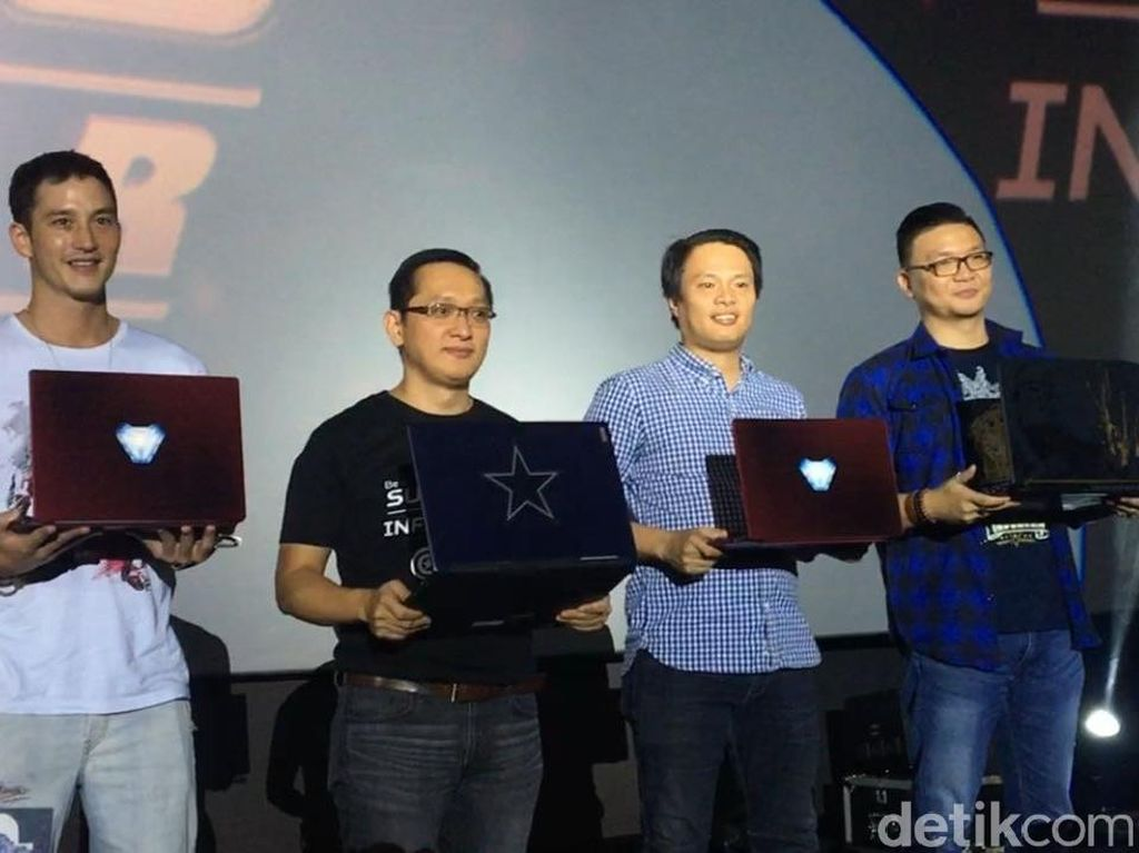 Acer Rilis Laptop Versi Avengers: Infinity War