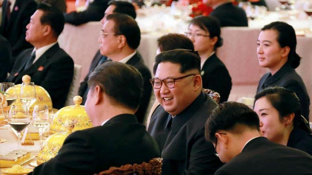 Pancake Kentang Swiss Jadi Suguhan Kim Jong-un Saat Bertemu Presiden Korsel
