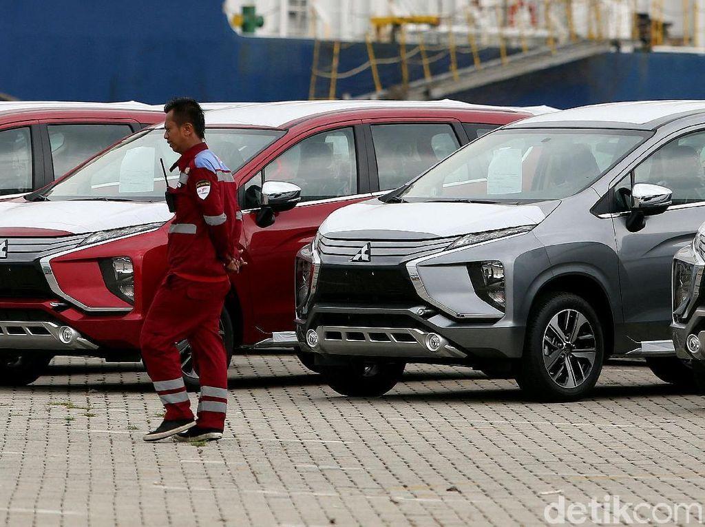 Masuk Kapal, Mitsubishi Expander Siap di Ekspor