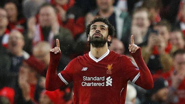 Mohamed Salah sudah mencetak 11 gol dari 14 pertandingan Liga Champions musim ini.