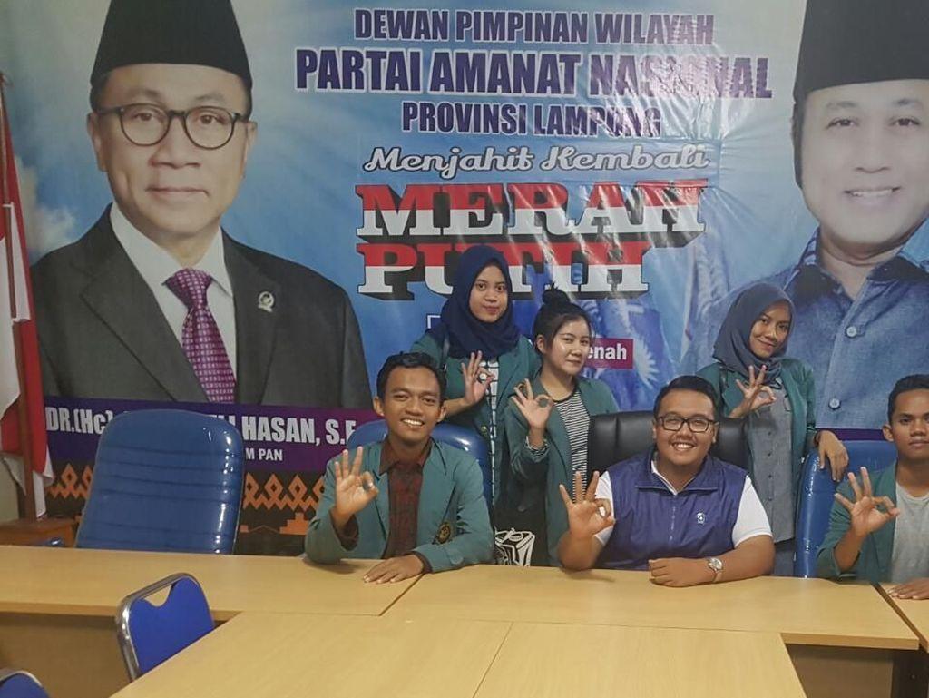 Ini Strategi Cagub Arinal Pikat Pemilih Muda Millennial Lampung