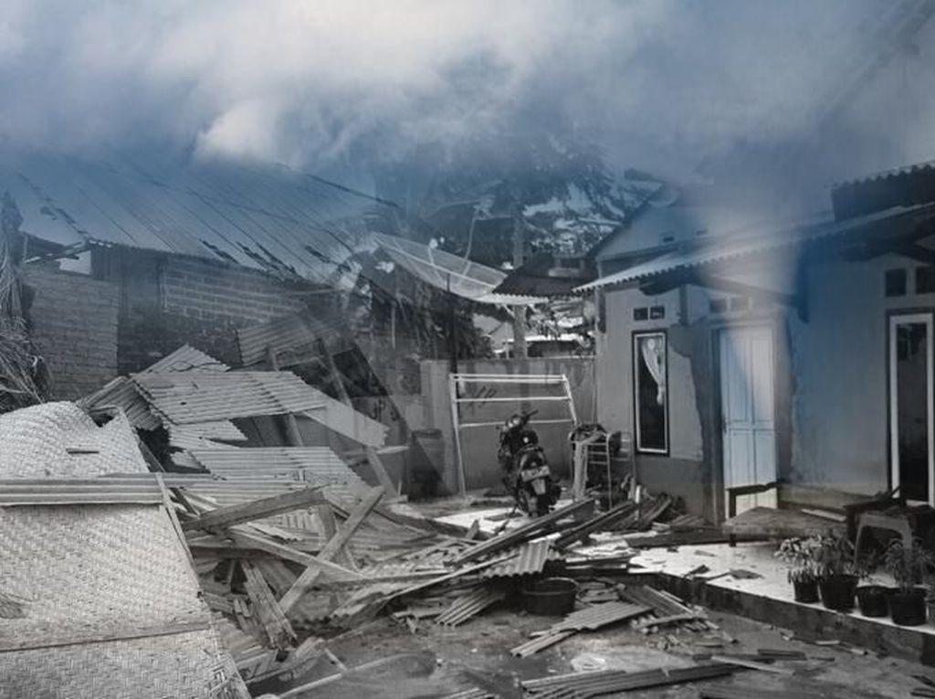 Puting Beliung Terjang Permukiman Warga di Bandung Barat