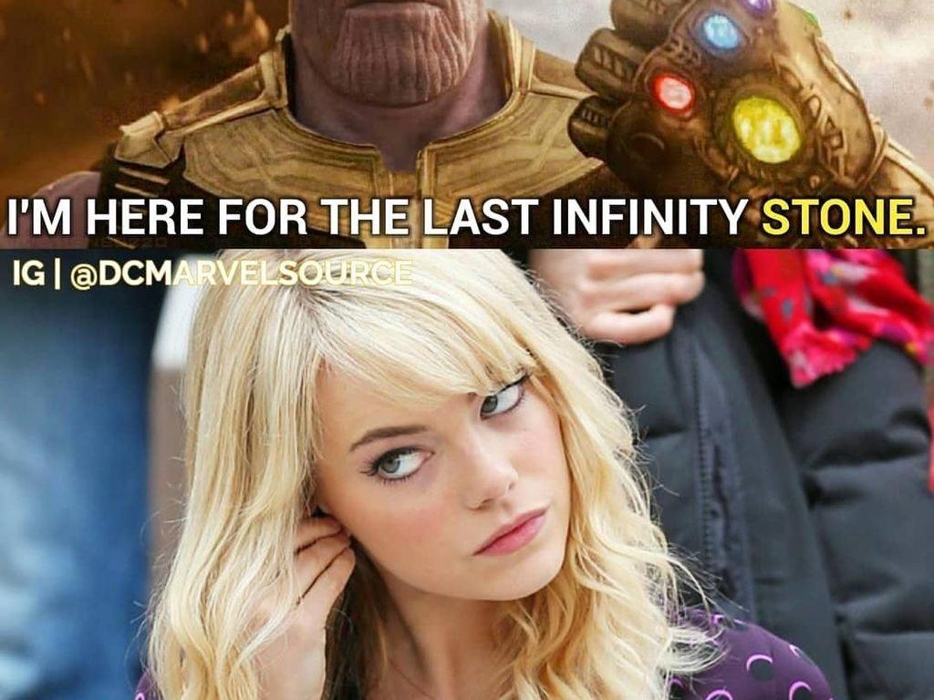 Avengers: Infinity Wars Tayang, Meme Kocak Thanos Bertebaran