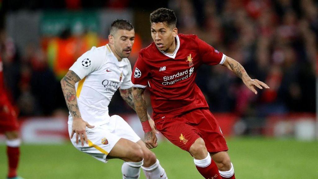 Umpan-Umpan Panjang Liverpool Melukai Roma