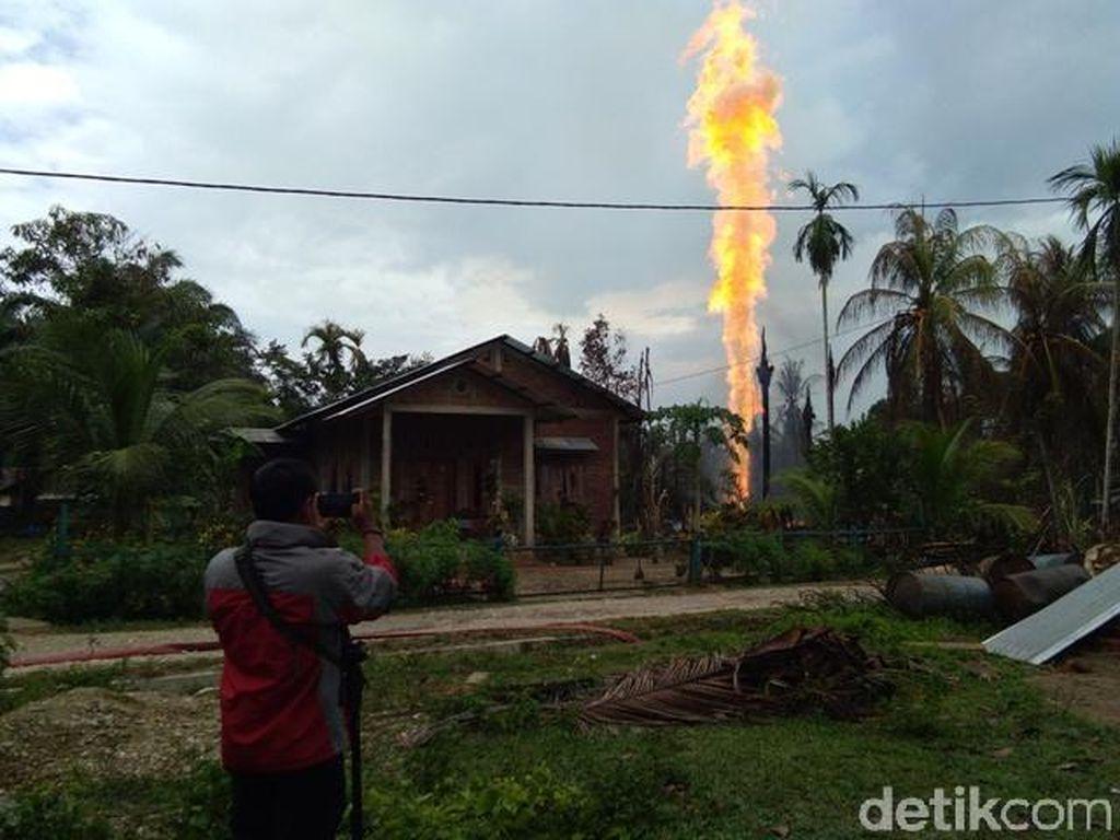 Korban Ledakan Sumur Minyak Aceh yang Dirawat di Medan Tewas