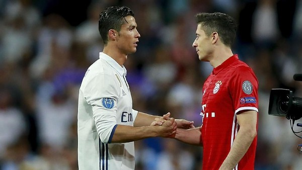 Ronaldo Ancaman untuk Bayern, Lewandowski Sedang Seret Gol