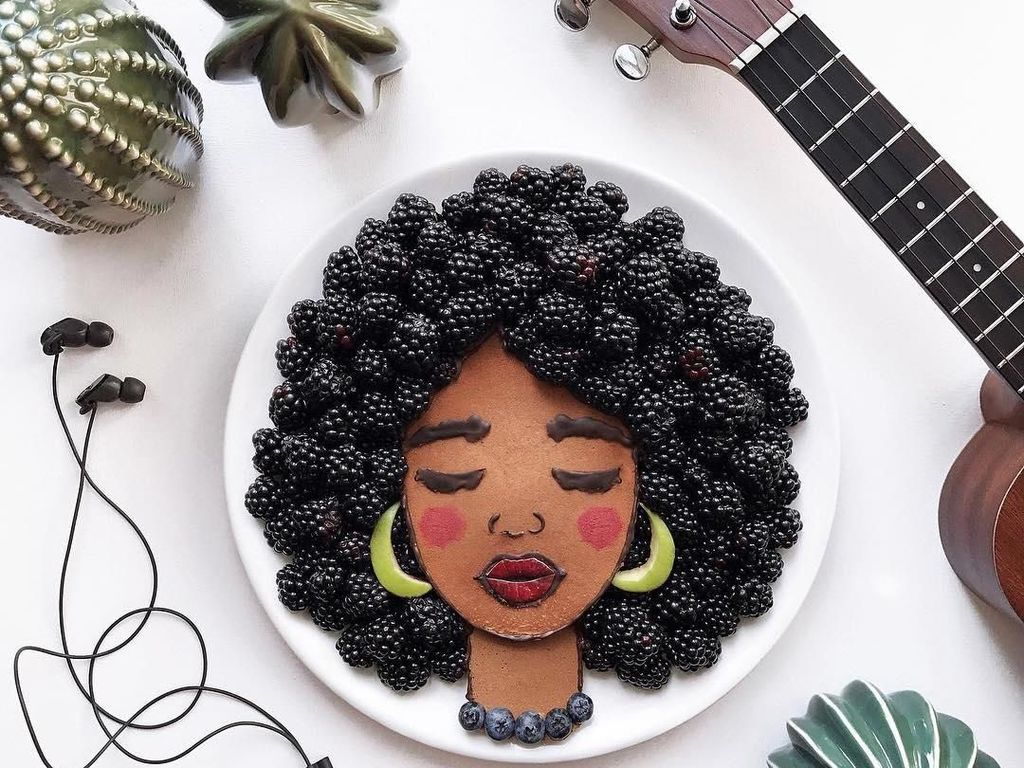 Seniman Ini Bikin Pancake Jadi Wajah Katy Perry hingga Anjing Lucu