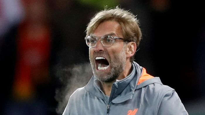 Juergen Klopp punya rekor buruk di Wembley (Carl Recine/Action Images via Reuters)