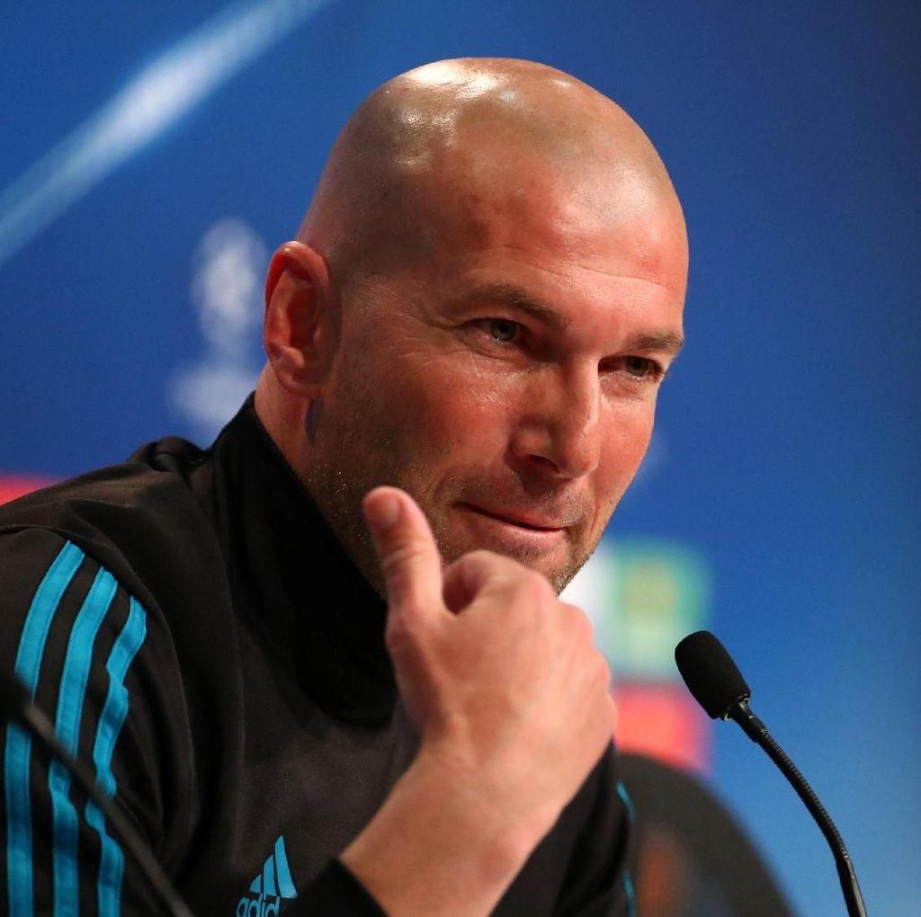 Tekanan di Final Liga Champions Lebih Berat Untuk Zidane ketimbang Klopp