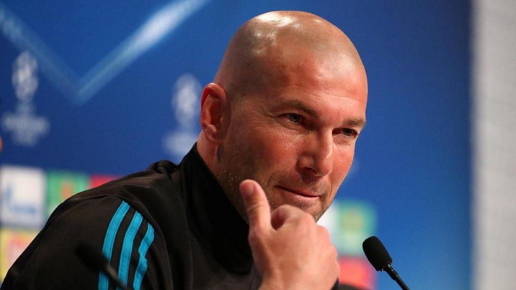 Zidane Tak Mau Laga Seperti Melawan Juve Terulang di Bernabeu
