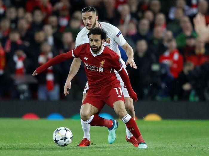 Pemain Liverpool, Mohamed Salah. (Foto: Carl Recine/Action Images via Reuters)