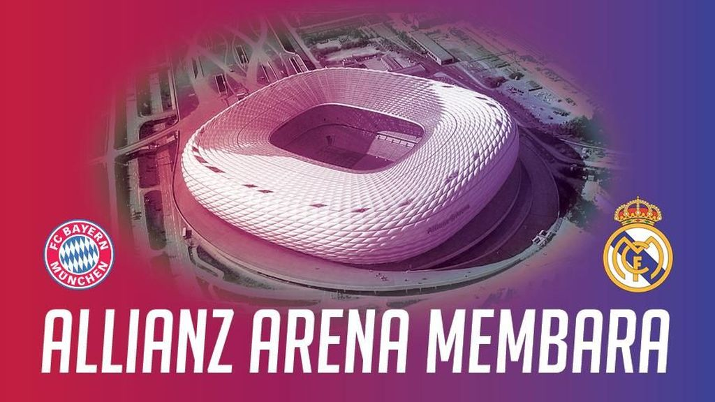 Allianz Arena Membara: Bayern vs Madrid