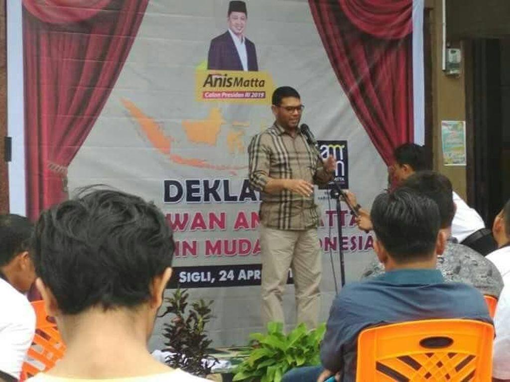 Nasir Djamil Ikut Deklarasi Relawan Anis Matta di Aceh