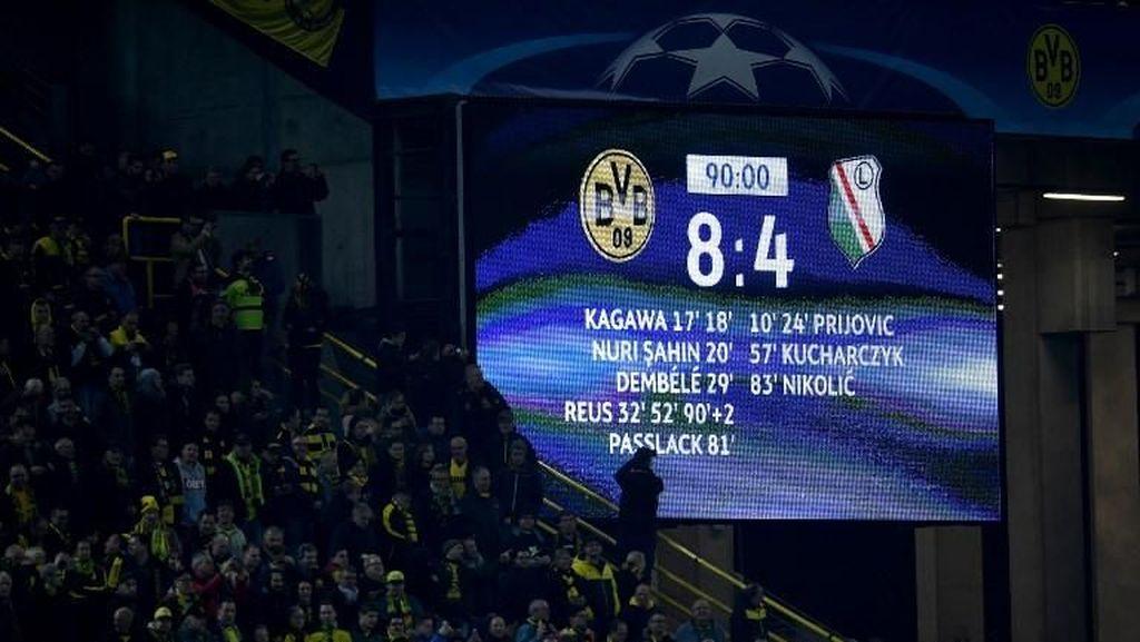 Foto: Skor-skor Besar di Laga Liga Champions