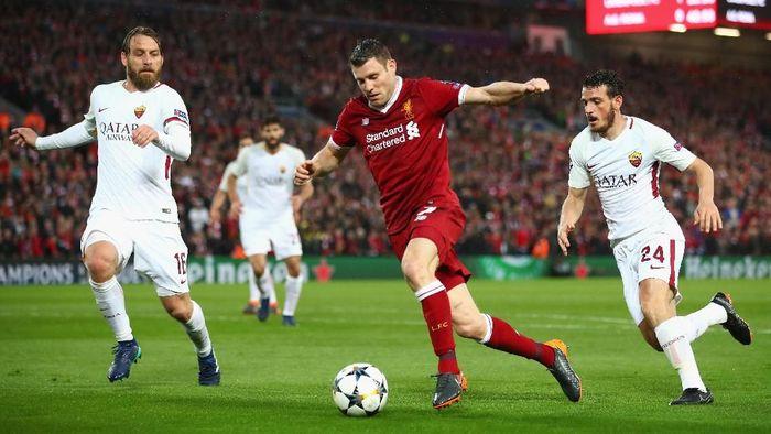 James Milner si raja assist di Liga Champions (Foto: Clive Brunskill/Getty Images)