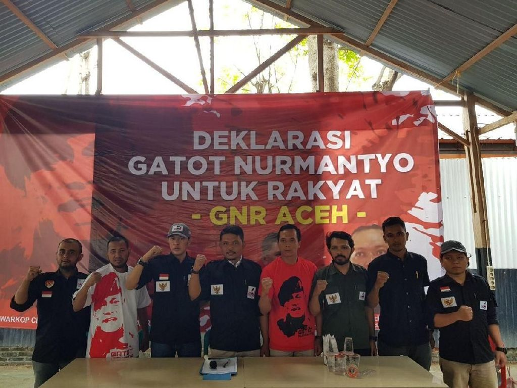 GNR Aceh Deklarasi Dukung Gatot Nurmantyo