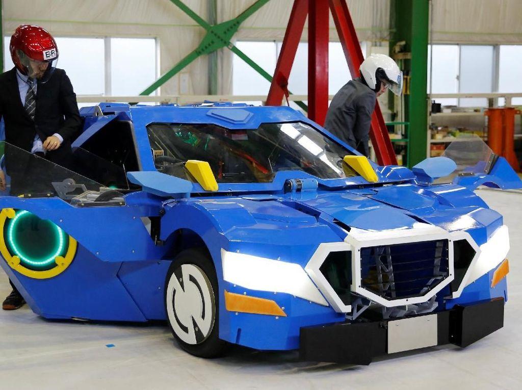 Video J-deite Ride, Transformers Nyata dari Negeri Sakura