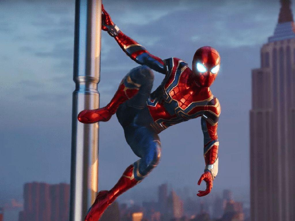 Iron Spider bakal Hadir di Game Terbaru Spider-Man