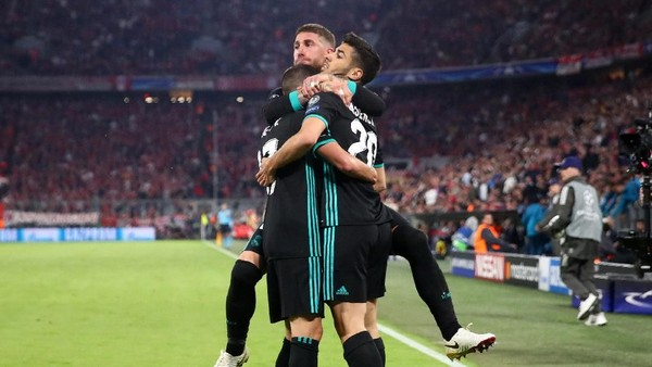 Real Madrid Taklukkan Bayern Munich 2-1