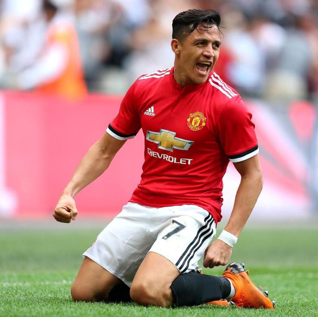 Sanchez Akui Kesulitan Beradaptasi dengan Gaya Main Manchester United