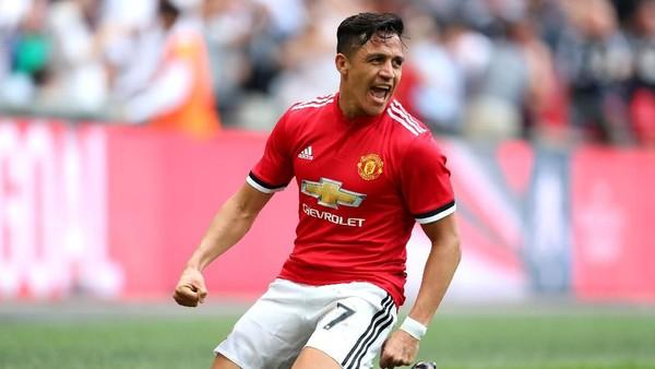 Manchester United Berharap Tuah Alexis Sanchez di Wembley