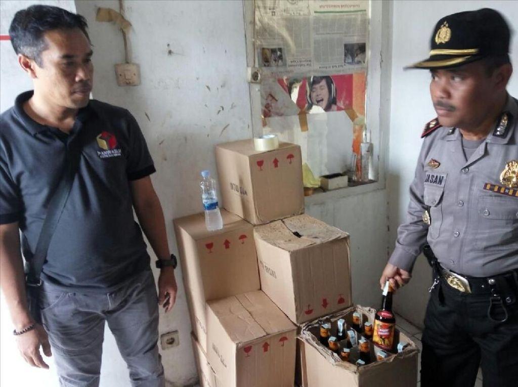 Selama 2018 Polisi Sukabumi Sita 3.346 Botol Miras