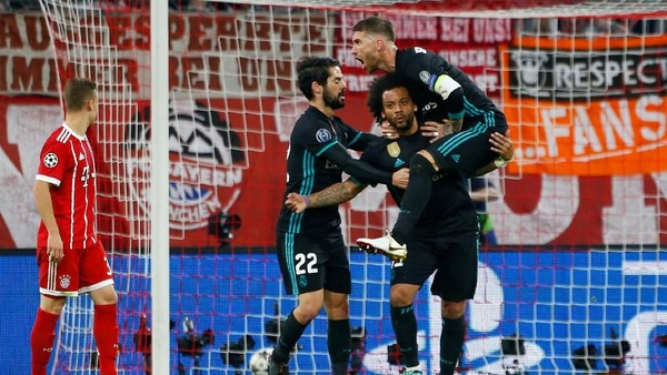 Lagi, Bayern Unggul Duluan tapi Madrid yang Menang